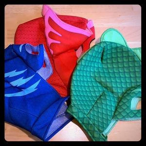 Other - Set of 3, PJ Masks Soft Head Masks